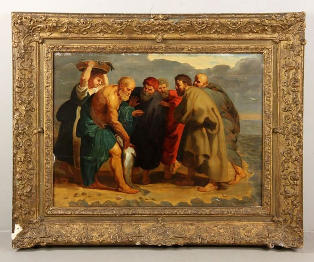17th Century Oil Painting Circle of Peter Paul Rubens
