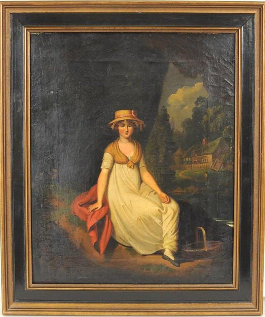 19th Century Oil Painting by Matthew Haughton
