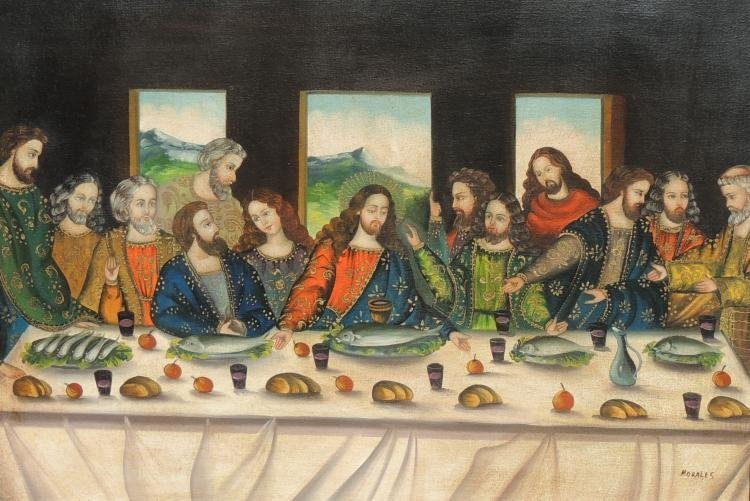 """The Last Supper""  By Juan Morales"