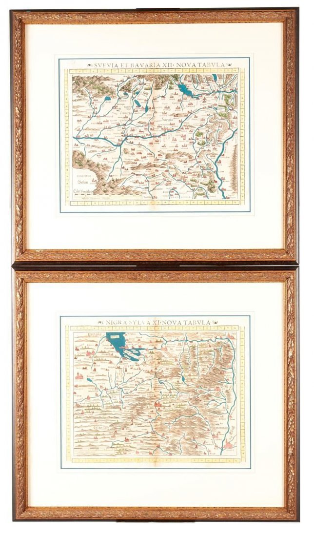 Pairing Of Sebastian Munster Nova Tabula Maps