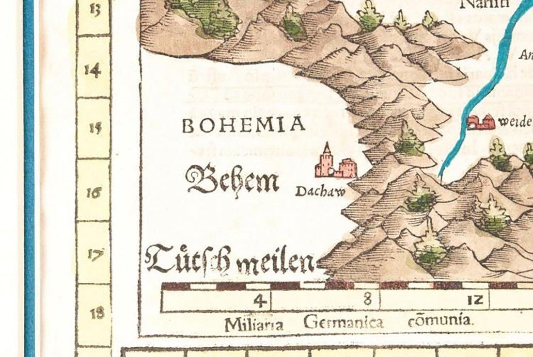 Pairing Of Sebastian Munster Nova Tabula Maps - 2
