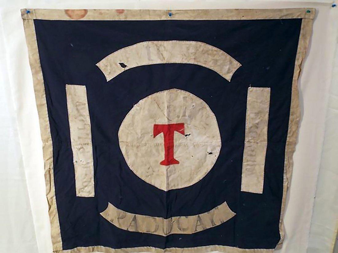 Historic Civil War Era Confederate Flag of Fort Pillow