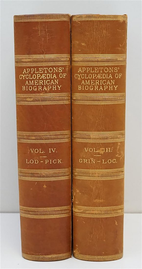 Appletons Cyclopedia Of American Biography - 2