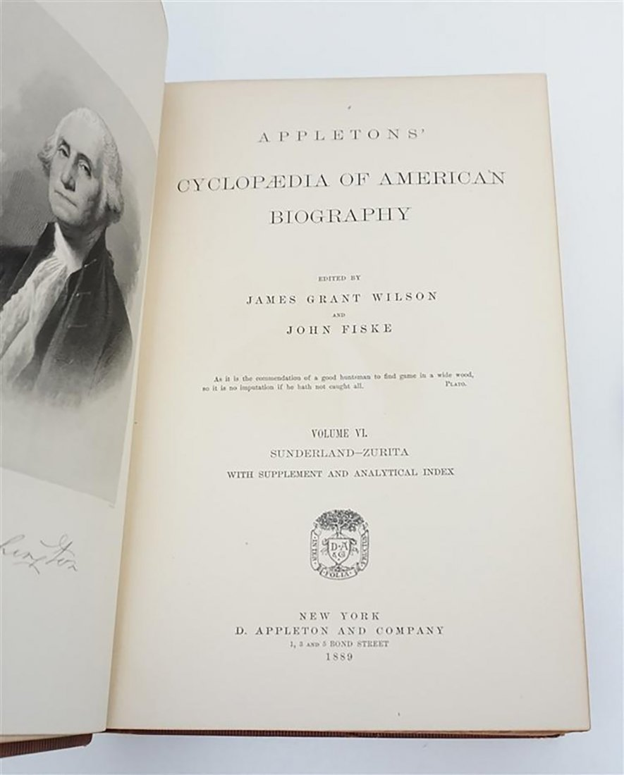 Appletons Cyclopedia Of American Biography - 6