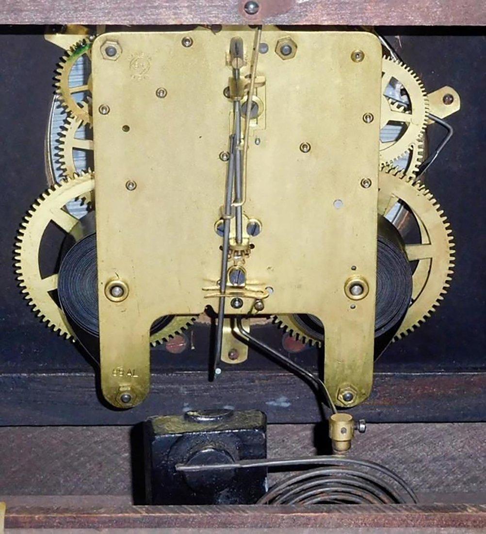 Antique Seth Thomas Mahogany Mantle Clock - 4