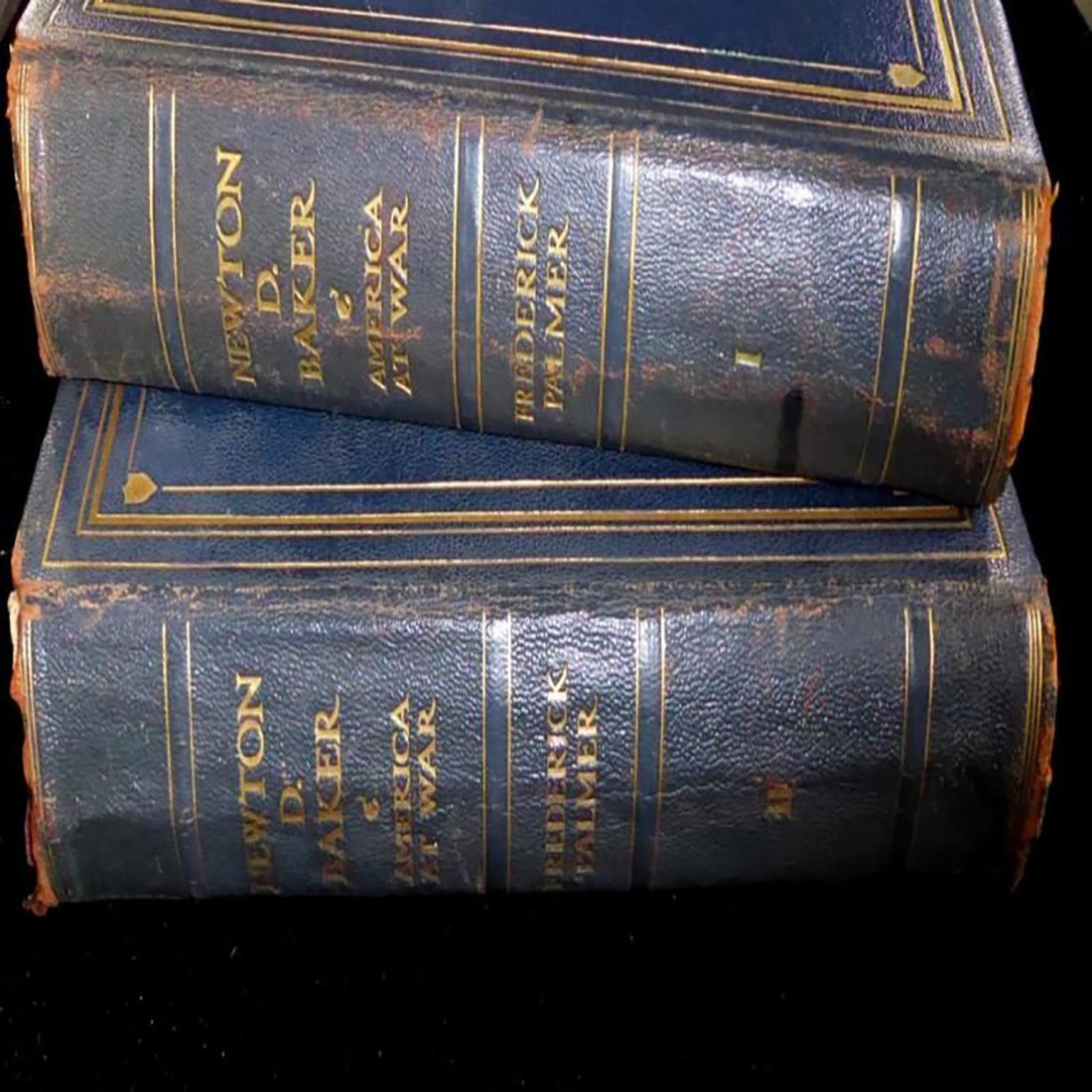 """Two Volume Book """"Newton D. Baker And America At War"""""""