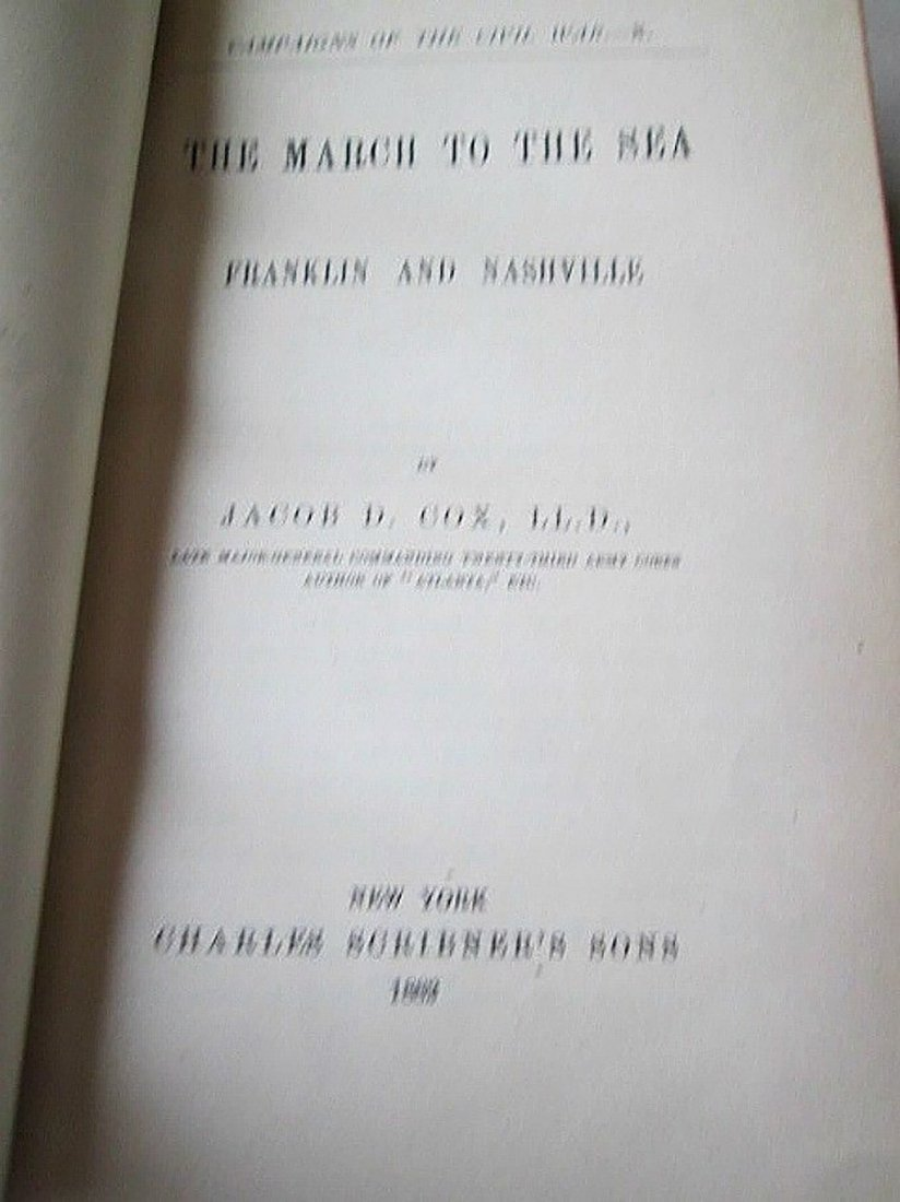 Antique Book Campaigns Of Civil War Vol 10 - 2