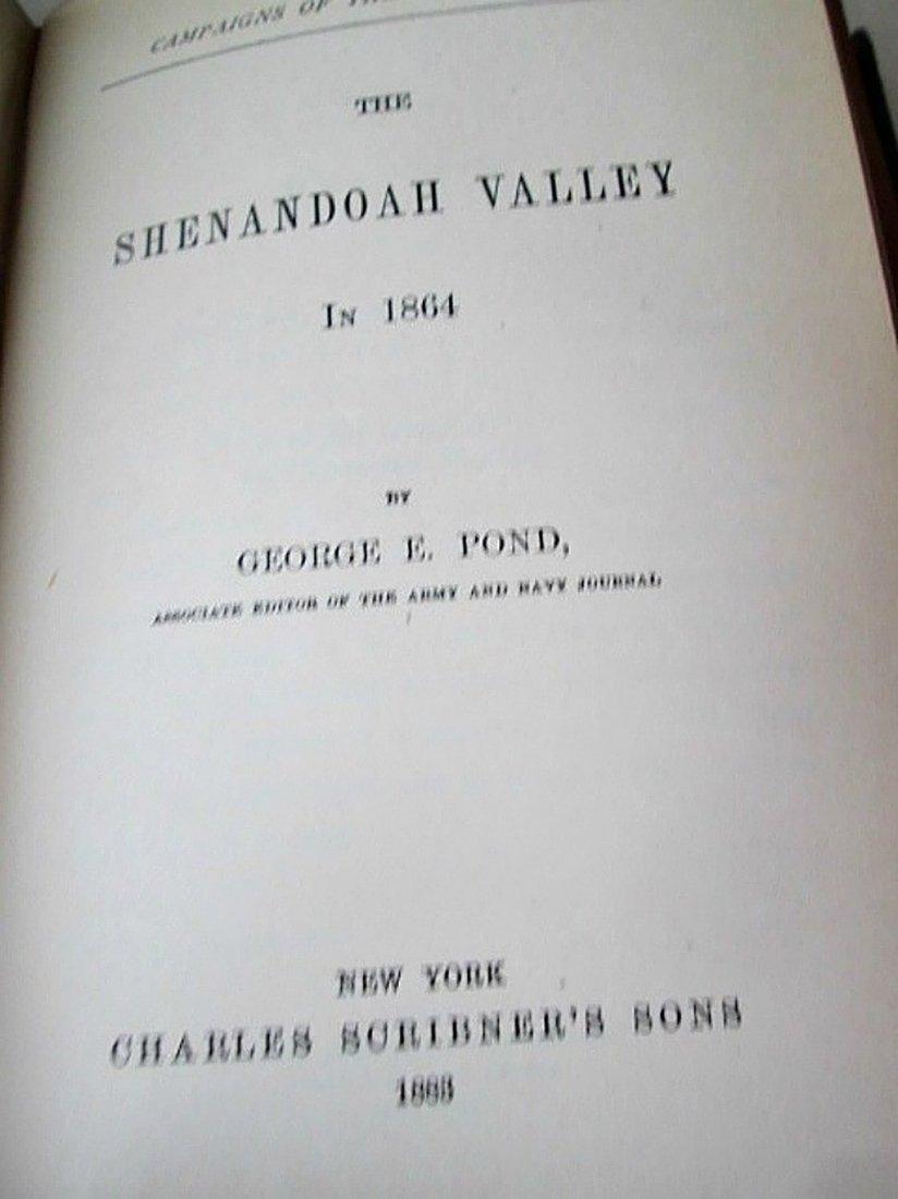 Antique Book Campaigns Of Civil War Vol 10 - 3