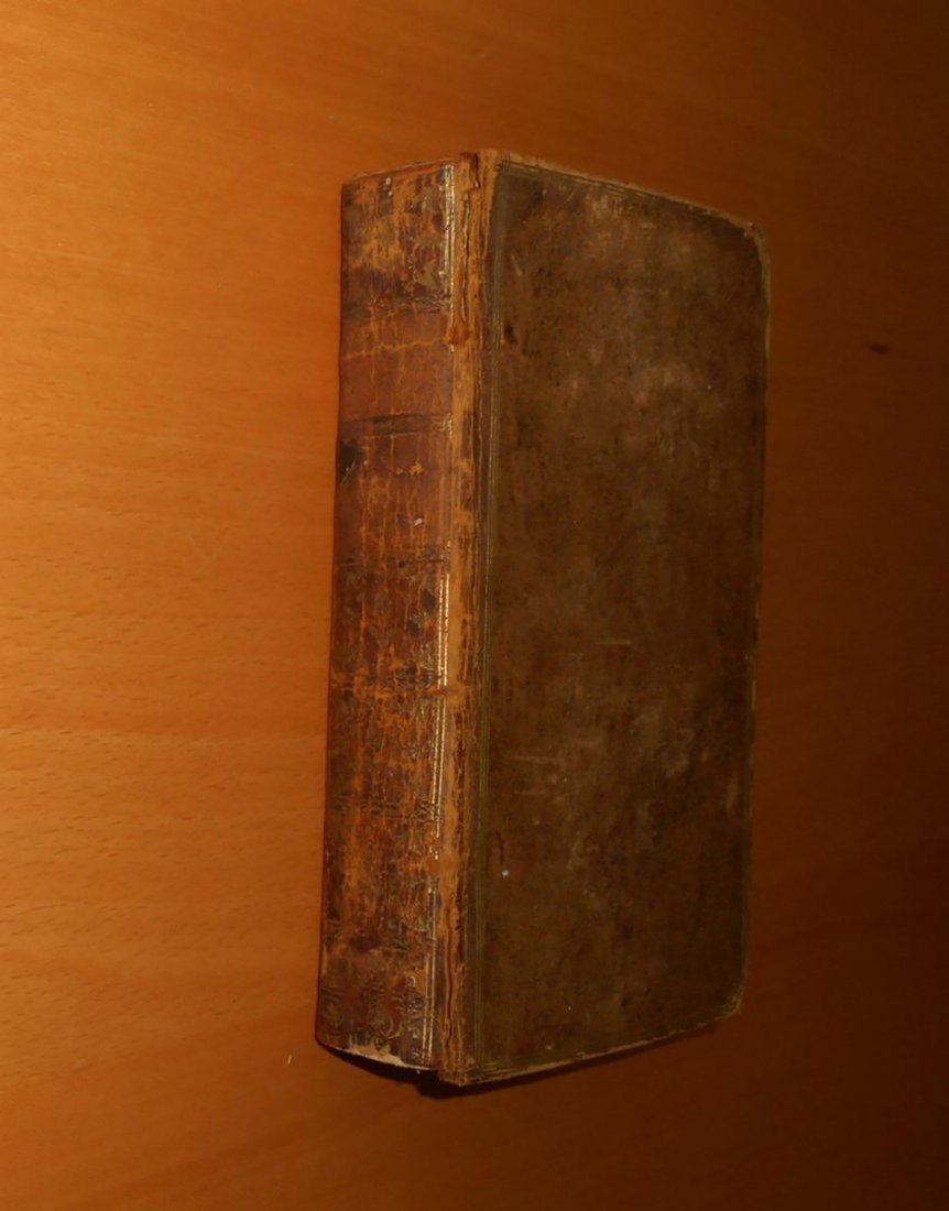 1762 Rousseau treatise Emile education antique book