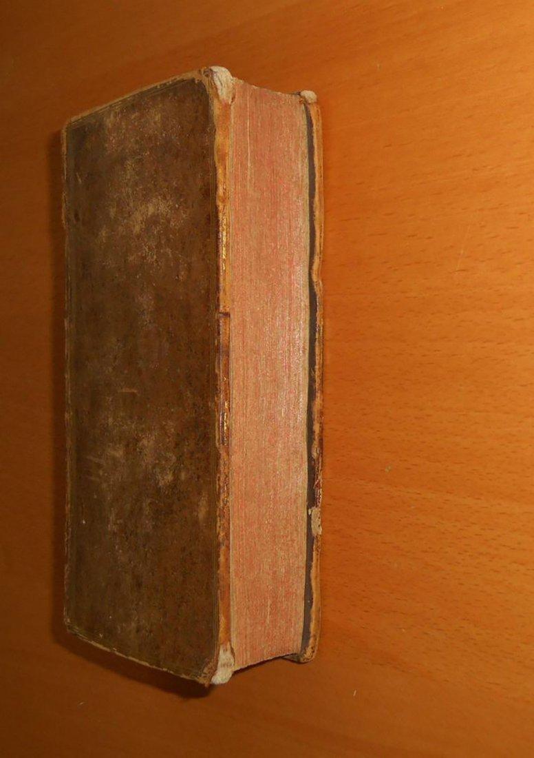 1762 Rousseau treatise Emile education antique book - 2