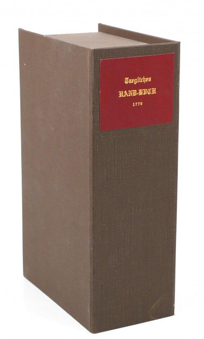 German Theological Book By Johann Friedrich Stark