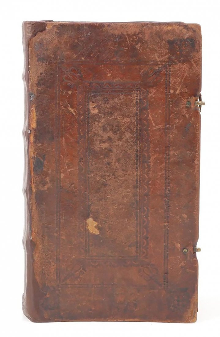 German Theological Book By Johann Friedrich Stark - 9