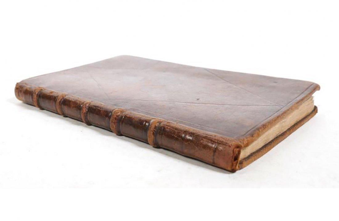 1650 Rare Original Handwritten Book By Marie De Petiot