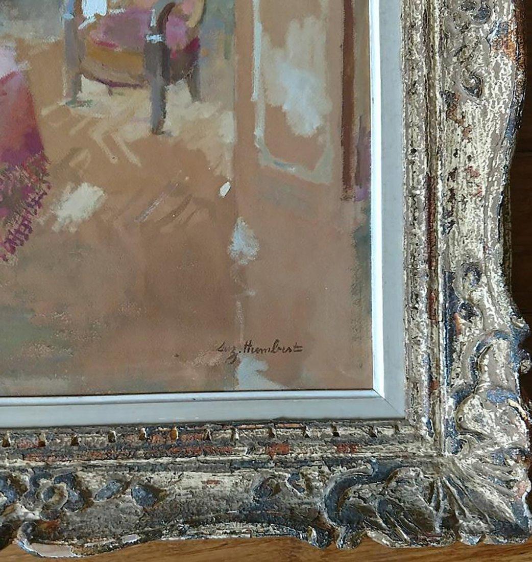 Humbert American Modernism Oil Still Life Signed - 3