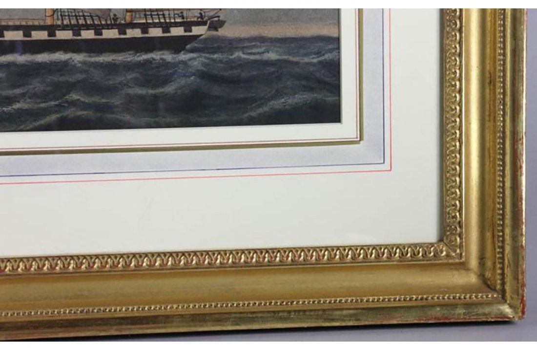 An American Clipper Ship By Jurgan Frederick Huge - 2
