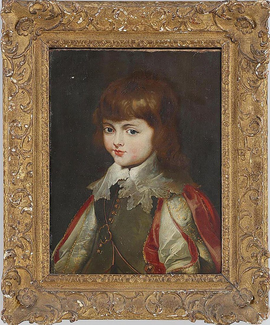 Continental School  Portrait of A Young Noble