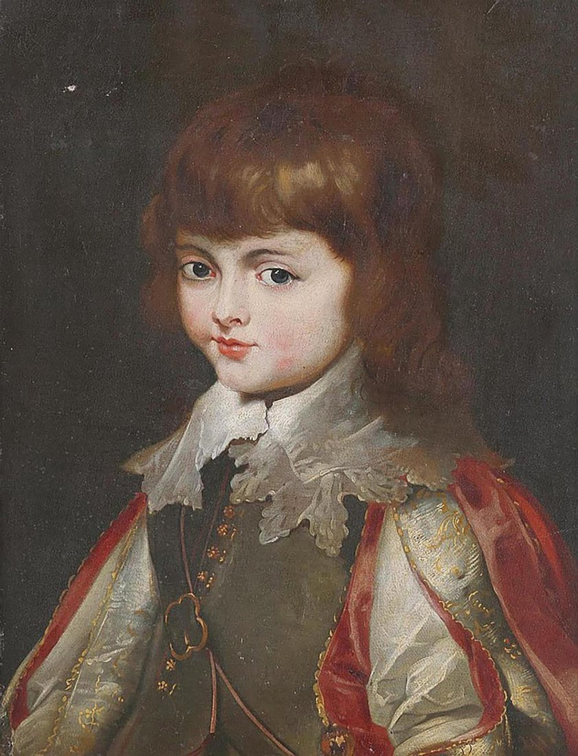 Continental School  Portrait of A Young Noble - 2
