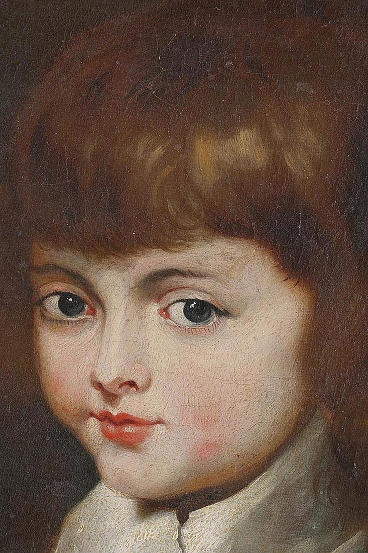 Continental School  Portrait of A Young Noble - 3