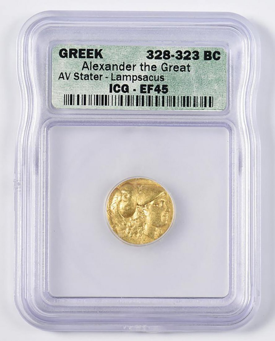 Ancient Greek Gold Coin - Alexander the Great AV Stater