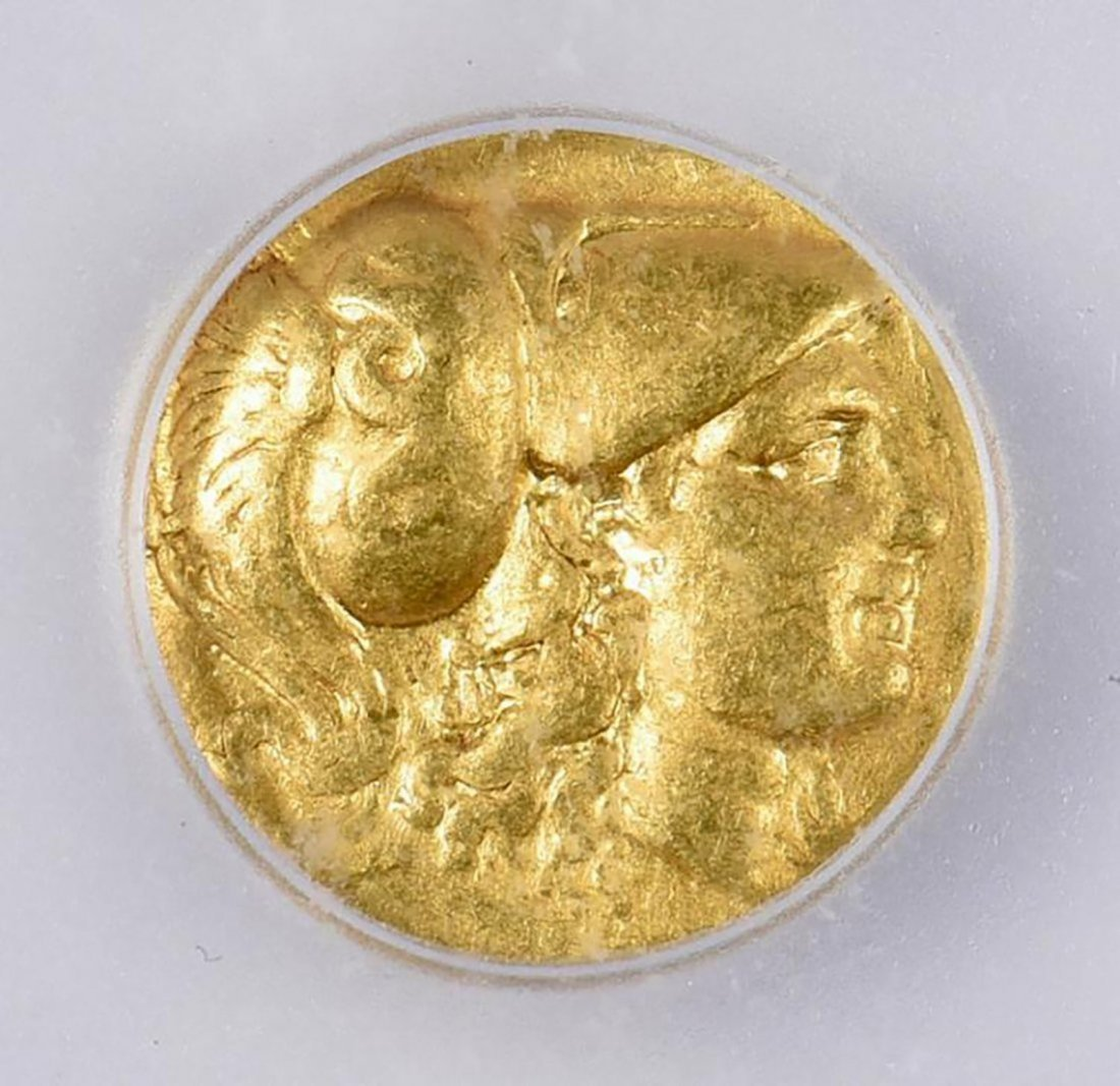 Ancient Greek Gold Coin - Alexander the Great AV Stater - 3