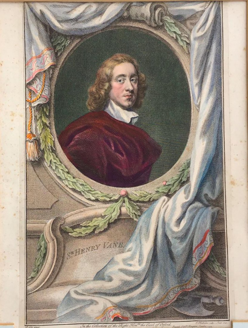 Antique 18th C. Sir Peter Lily Hand-Colored Engraving - 2