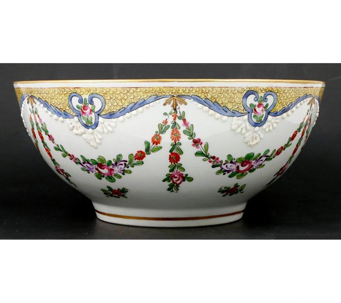 Antique Signed Edme Samson Porcelian Bowl