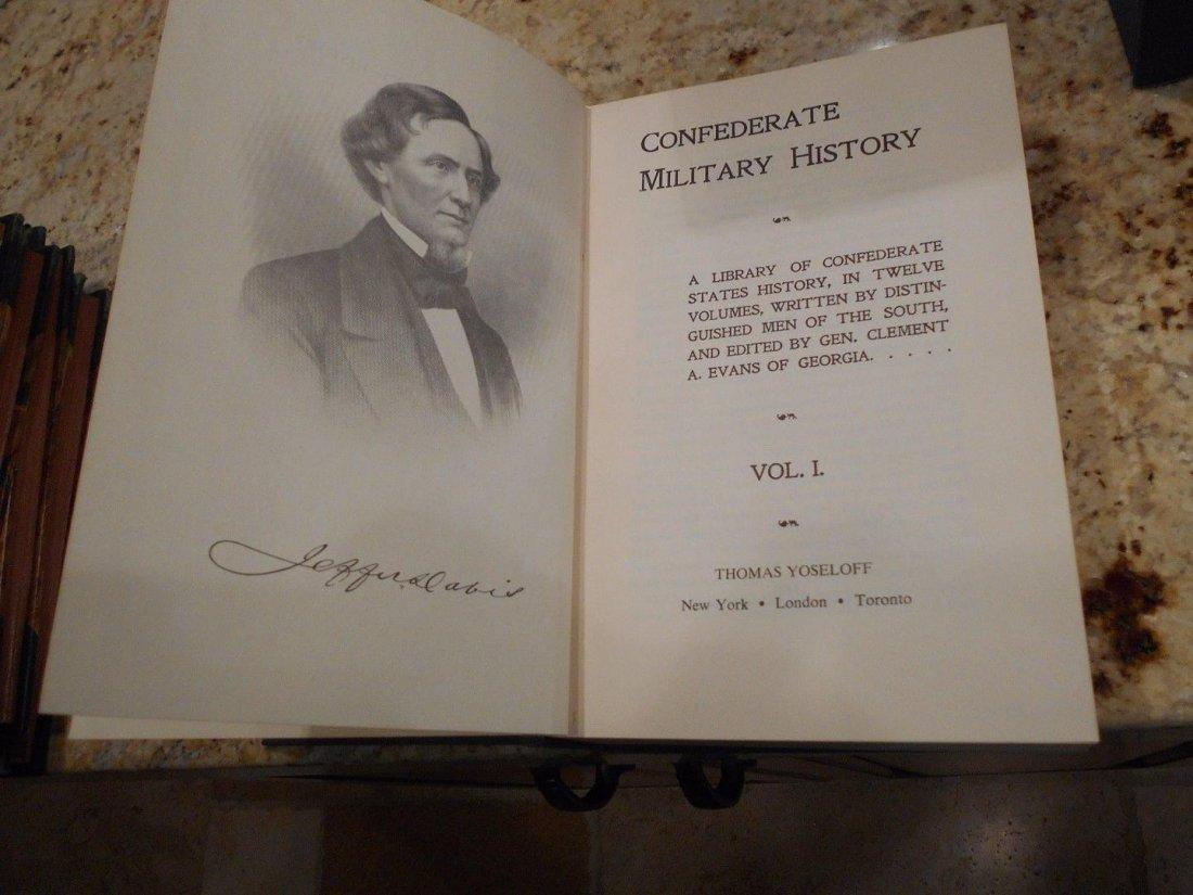 Civil War Book Series Confederate Military History - 2
