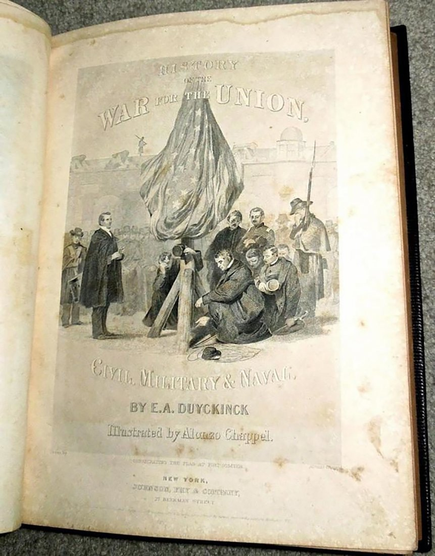 History Of The War For The Union V.I By E.A. Duyckinck - 3