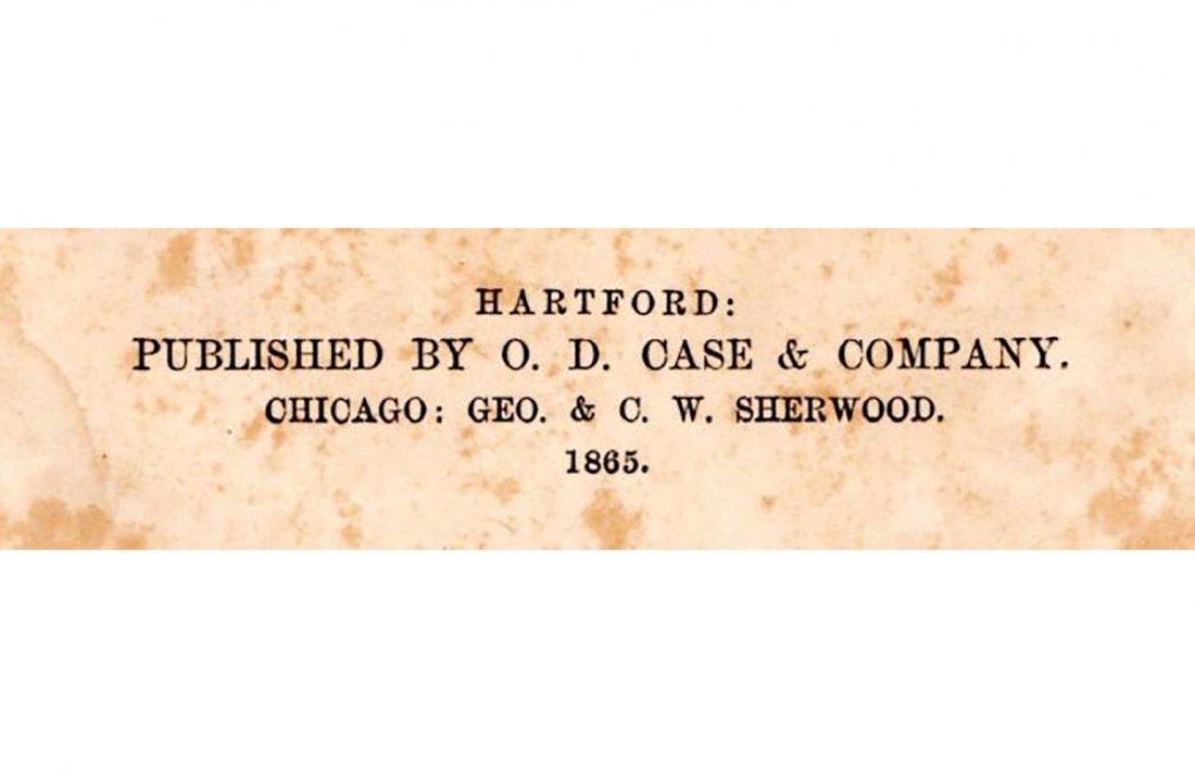 Engraved Civil War Engraving of Cumberland Gap - 2