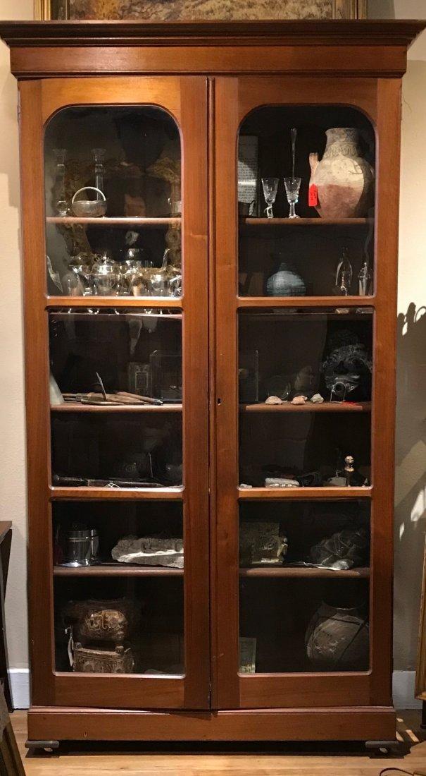 Historic Antique Devon Farms Display Cabinet