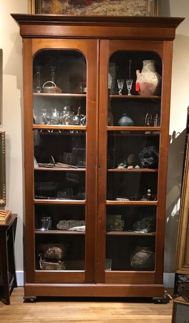 Historic Antique Devon Farms Display Cabinet - 2