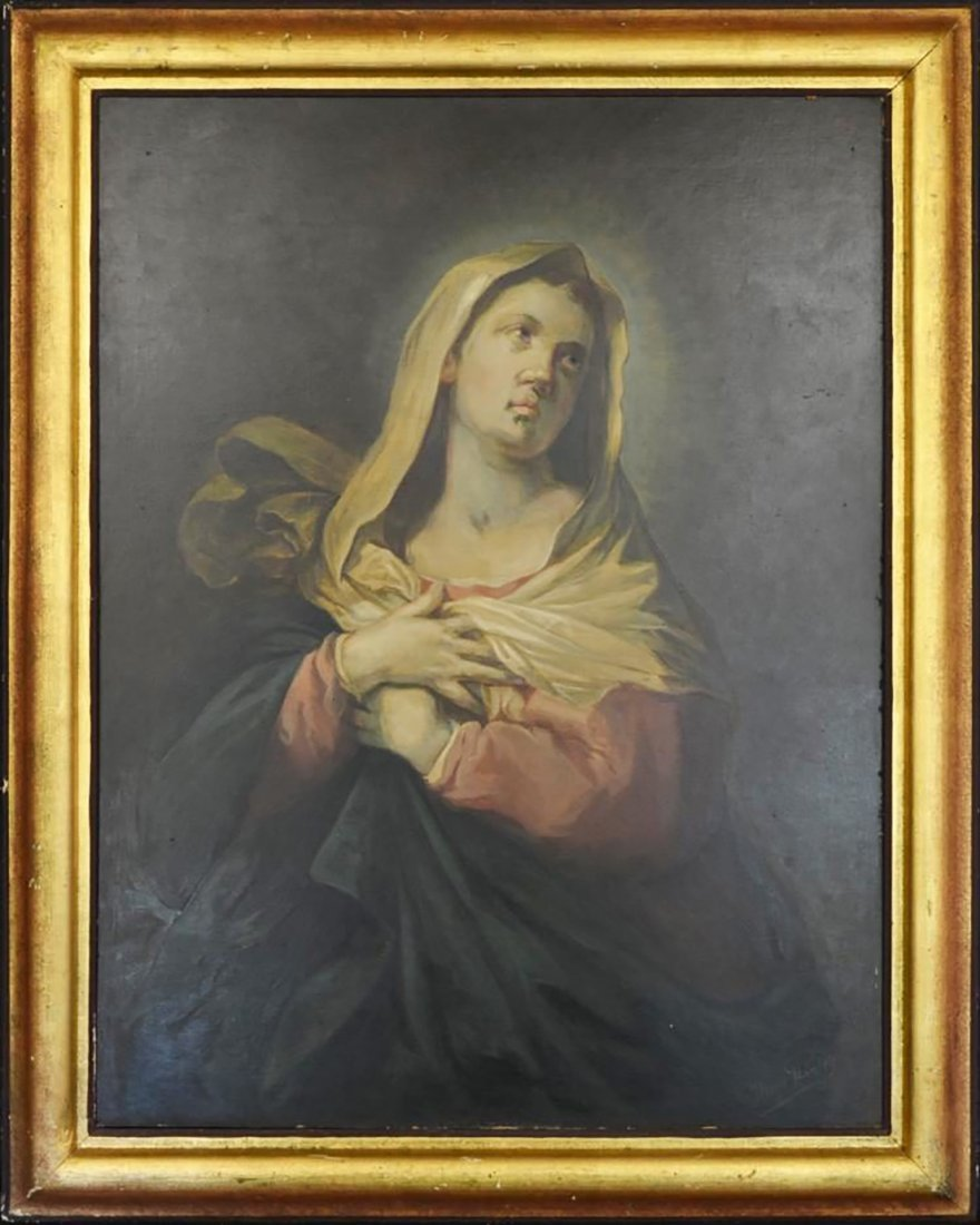 """The Penitent Magdalene "" After Titian"