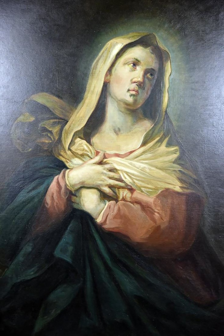 """The Penitent Magdalene "" After Titian - 2"