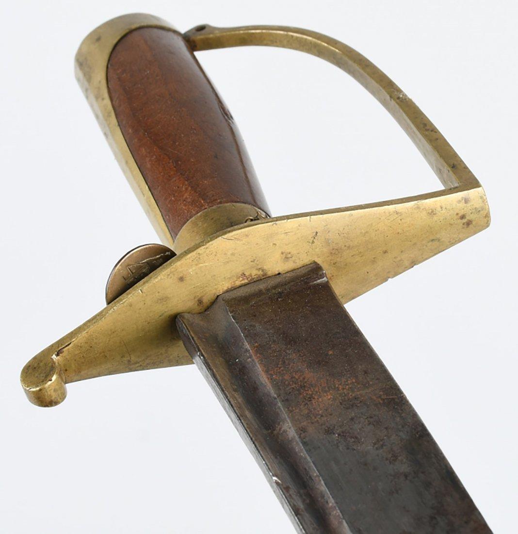 Museum Quality Revolutionary War Infantry Hanger Sword - 4