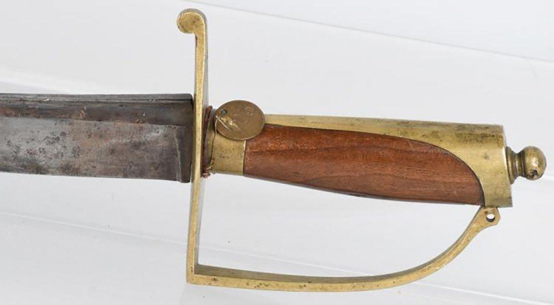Museum Quality Revolutionary War Infantry Hanger Sword - 5