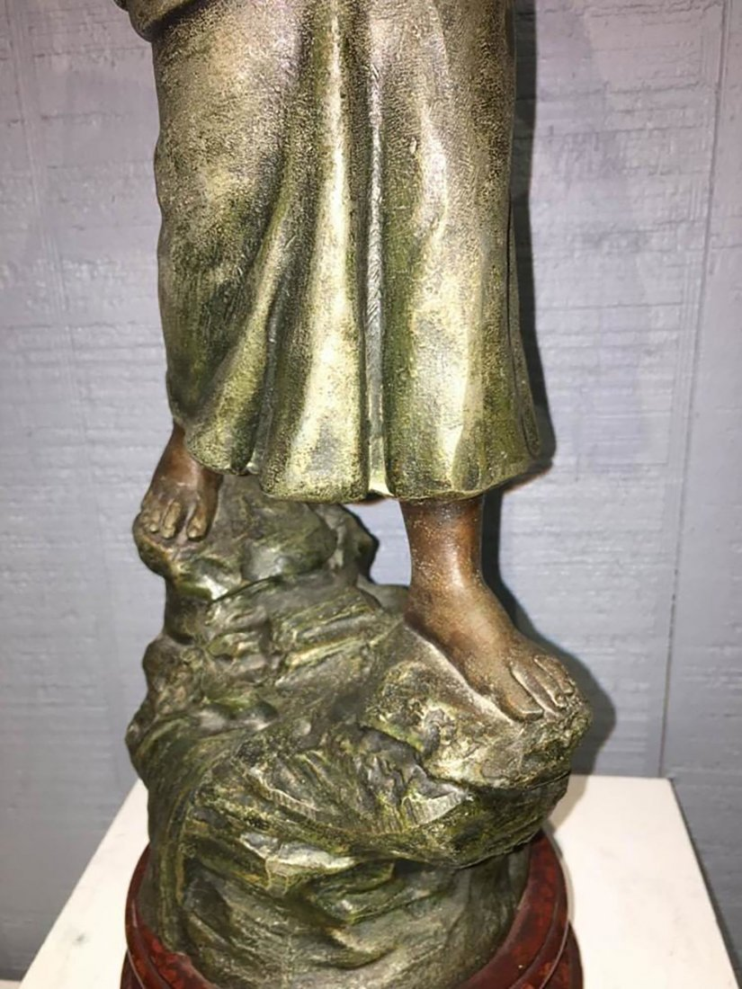 Large French  Sculpture Of Female Figure - 4