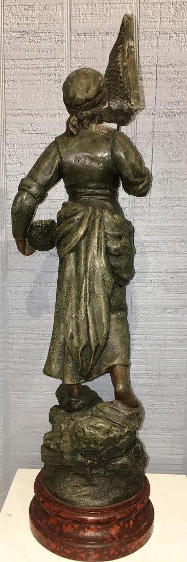 Large French  Sculpture Of Female Figure - 7