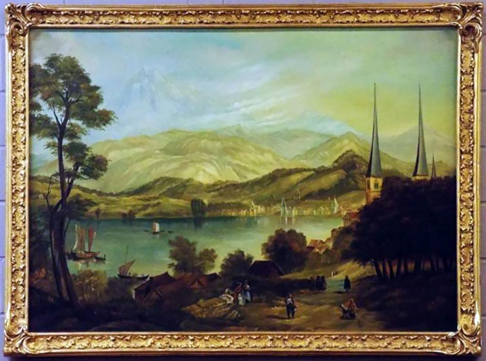 19th Century Hudson River School Landscape