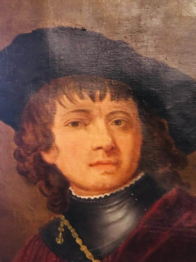 "Rembrandt ""Self Portrait as a Young Man"" - 2"