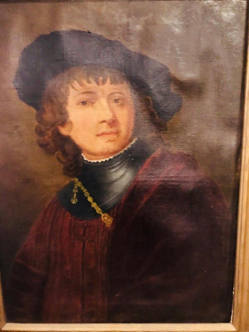 "Rembrandt ""Self Portrait as a Young Man"" - 4"