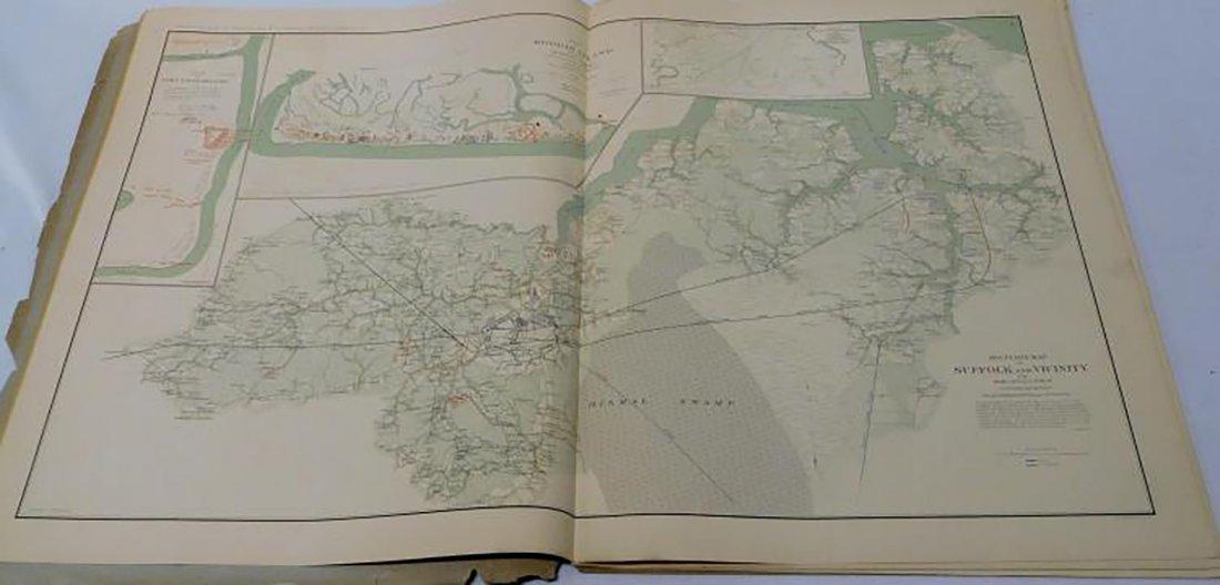 Rare Atlas Maps of Union And Confederate Armies - 6