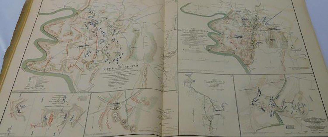 Rare Atlas Maps of Union And Confederate Armies - 9