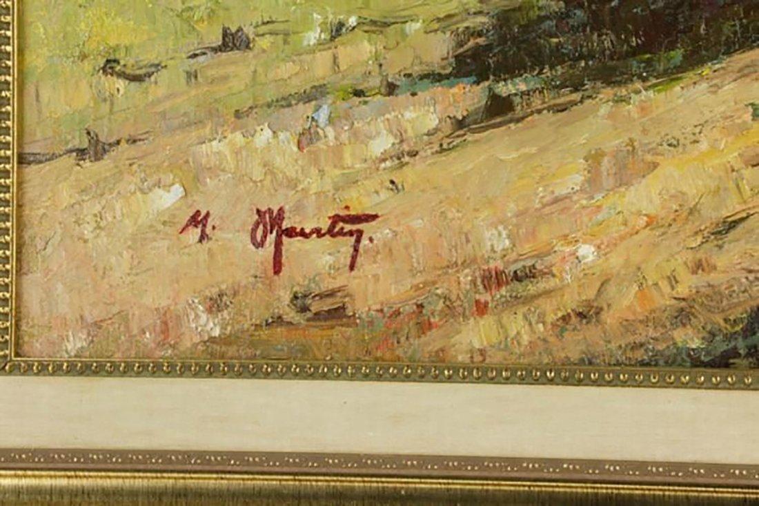 """Volta De LA Carreta"" Landscape By Maurice Martine - 4"