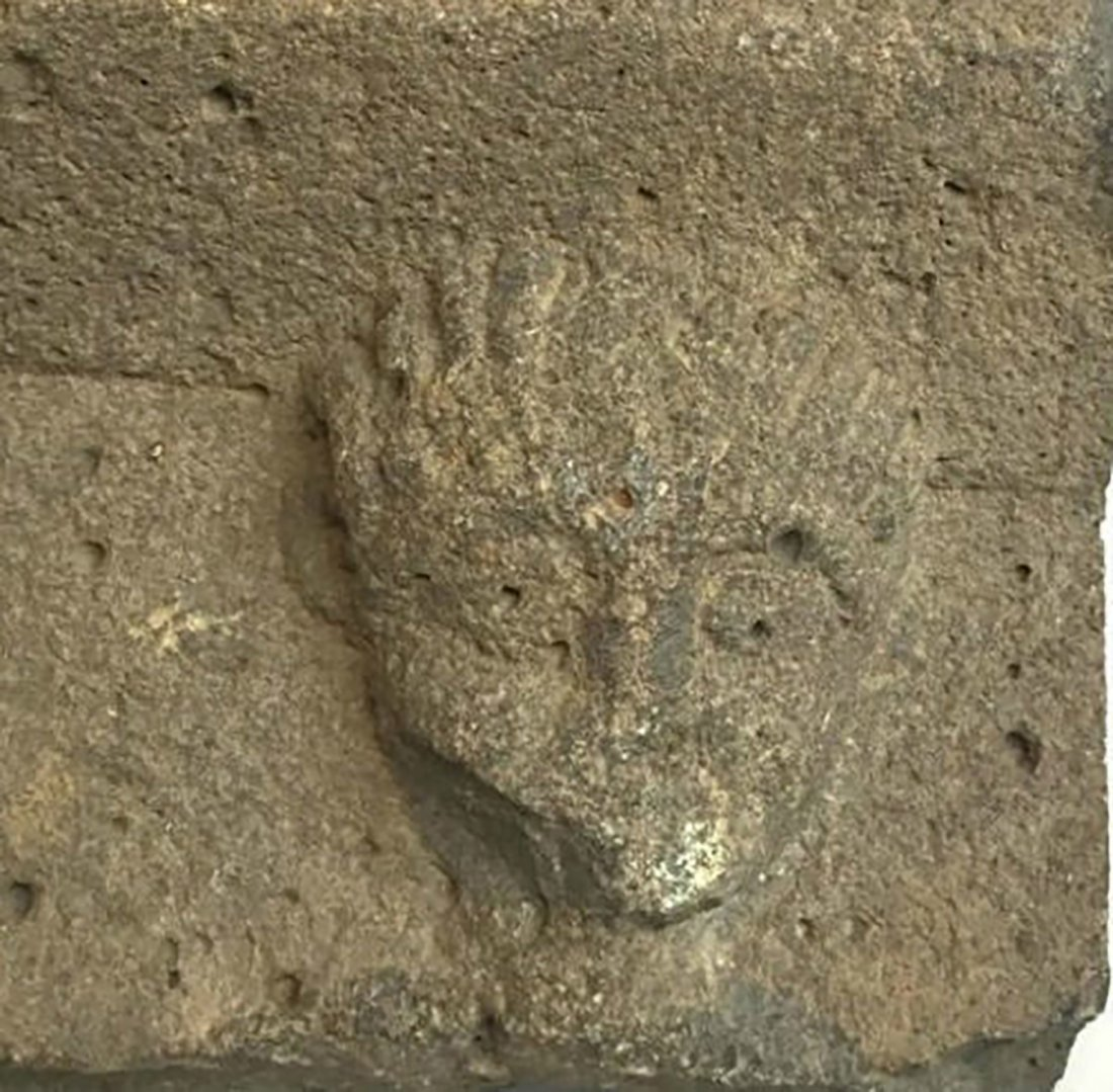 Ancient Roman Basalt Stone Panel 100-300 AD - 3