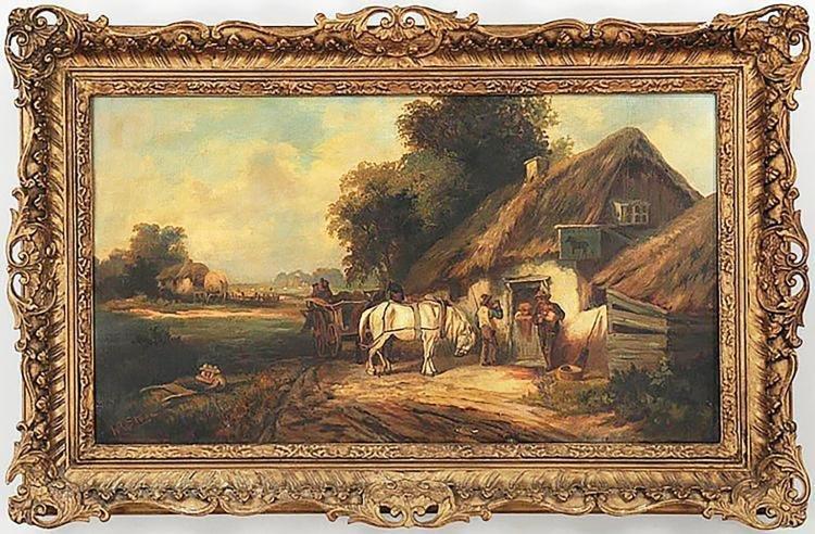 """Black Horse Tavern"" by William R. Stone"
