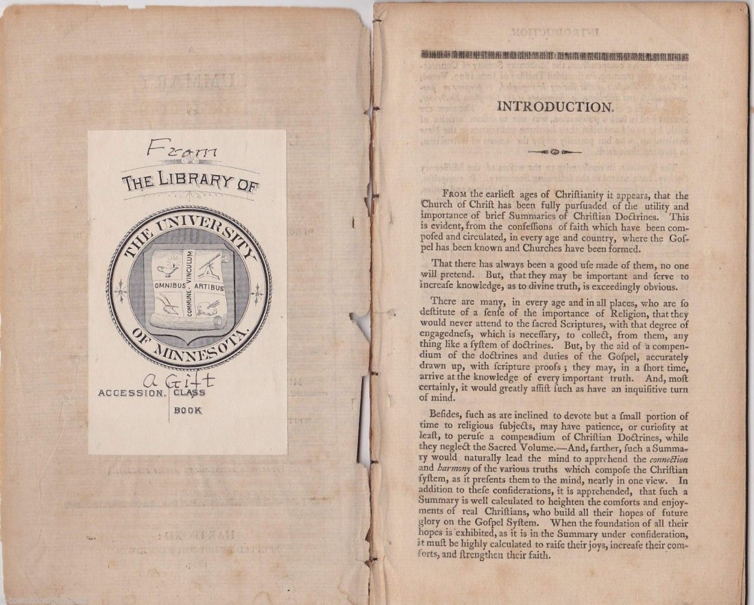 Rare Important 1804 Missionary Booklet - 2