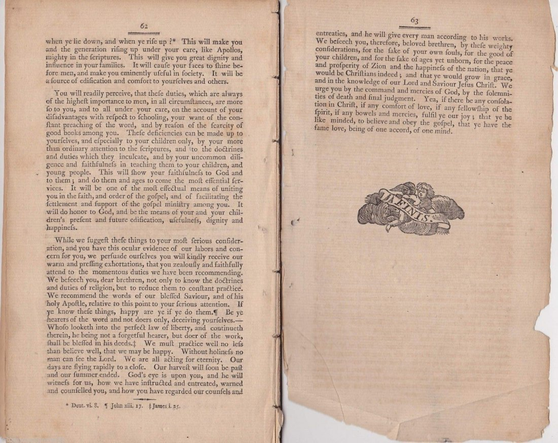 Rare Important 1804 Missionary Booklet - 4