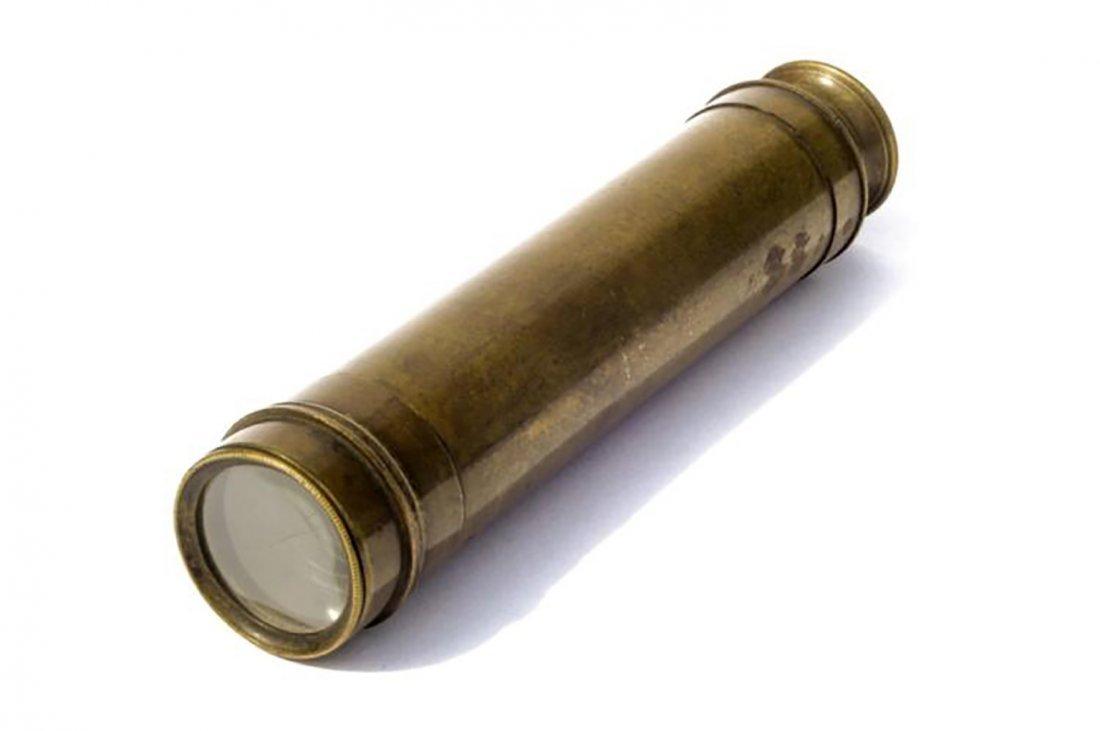 Antique Civil War Brass Spyglasses - 4