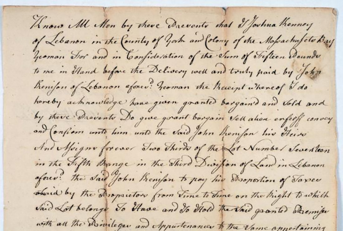 1776 Land Deed Signed After the Start of the Revolution - 2
