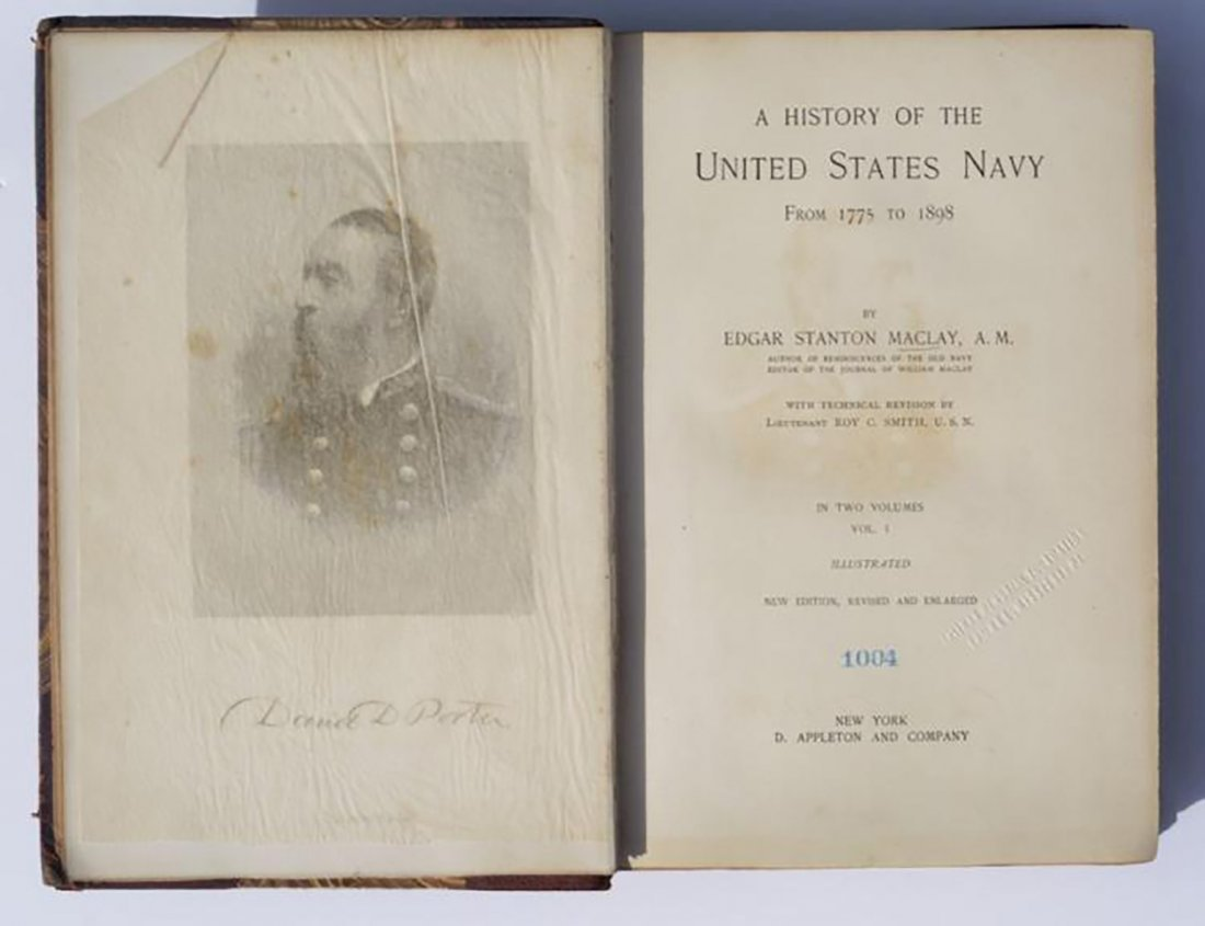 A History of the United States Navy from 1775 to 1898